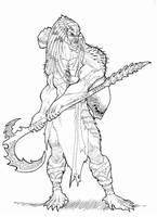 Warrior Predator by Ronniesolano
