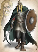 Uhtred of Saxon Chronicles by Ronniesolano