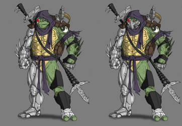 Evil Donatello by Ronniesolano
