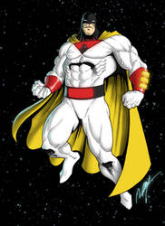 Space Ghost by Ronniesolano