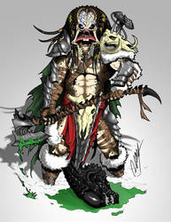 Barbarian Predator by Ronniesolano