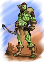 COMMISSION - Rogkar Wildhawk by Ronniesolano