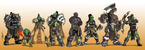 COMMISSION - Orc Guild by Ronniesolano