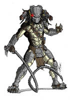 COMMISSION - Wolf Predator Masked Colors by Ronniesolano