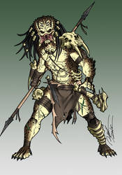 Primal Predator by Ronniesolano