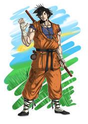 Son Goku by Ronniesolano