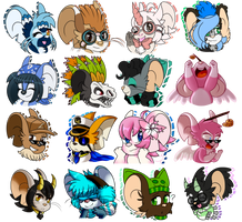 Heads by Sonicyss