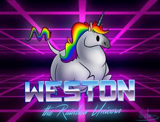 Weston the Rainbow Unicorn by Weretoons101