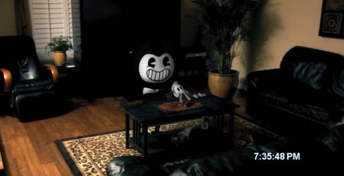 Paranormal Bendy- Playing a friendly board game by Weretoons101