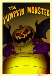 Pumpkin Monster Poster by Weretoons101