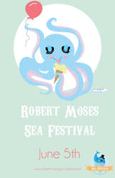 Robert Moses Sea Festival Poster by TheFriendlyAsassin