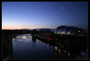 Newcastle by night by josephsos