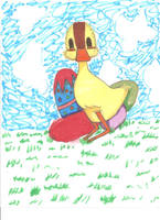 A duckling by Kdmittens