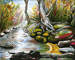 Brook by Izar