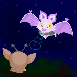 Vs Noibat by Puccawitch