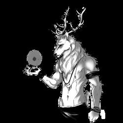 OPEN - Deer Adoptable OC by 2shibs