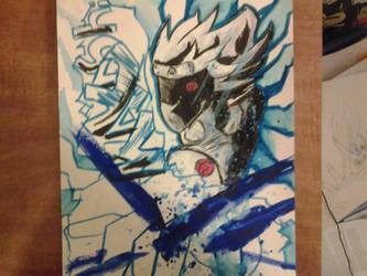 Kakashi graffiti style  by Josh99912