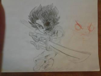 Char. pencil sketch by Josh99912
