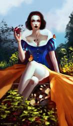Dark Fairy Tale Series: Snow White by Kyena