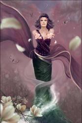 Spring Petals by Kyena