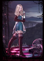 Alice the finish by Kyena