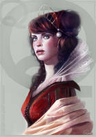 Red Queen by Kyena
