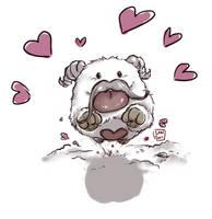 Feel the Poro love! :D by Sanshikisumire