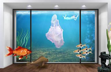 Aquatic Party by KarmaRae