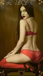 Lust in Red by KarmaRae