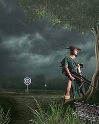 Modern Day Robin Hood by KarmaRae