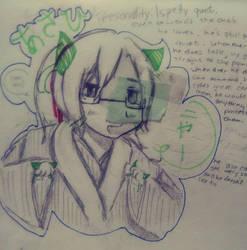 My Character Asahi by artist-always