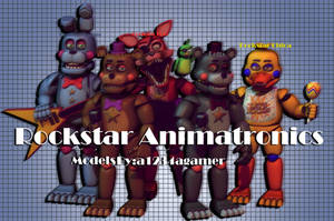 a1234agamer Rockstar Pack Blender Release by Holopaxume