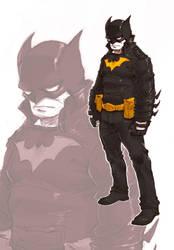 Batman by milkyliu