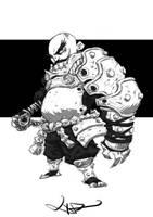 White armor by milkyliu