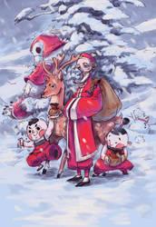 Chinese Christmas by milkyliu
