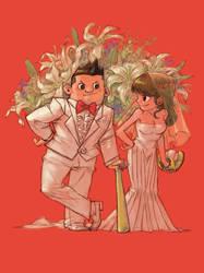 Friends Wedding by milkyliu