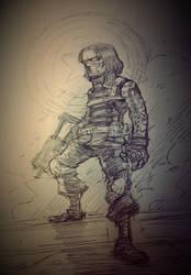Winter Soldier by milkyliu