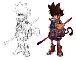 Goku by milkyliu