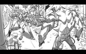 Fight by milkyliu