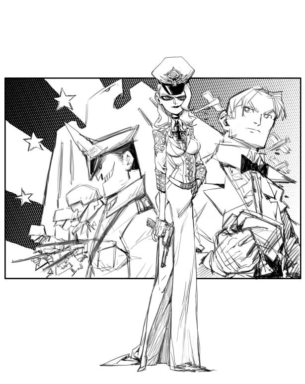woman officer by milkyliu