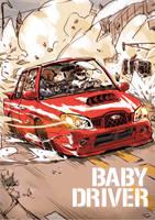 baby in the car by milkyliu