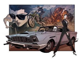 Lady Bond by milkyliu