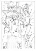 Family portrait by LunaJMS