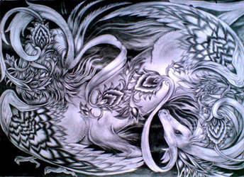 Horse-Bird by sonia-p