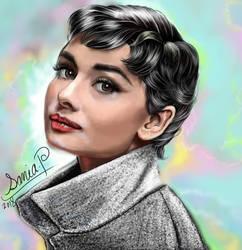 Audrey hepburn by sonia-p