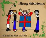 Merry Christmas by StrixVanAllen