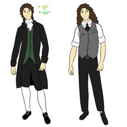 Auguste full body reference by StrixVanAllen