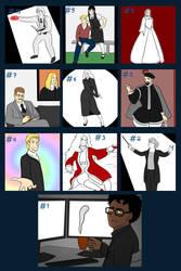 Top 10 Halloween challenge drawings by StrixVanAllen