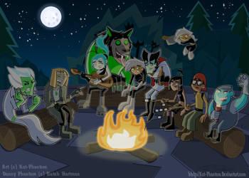 DP-Summer Campfire by Kat-Phantom
