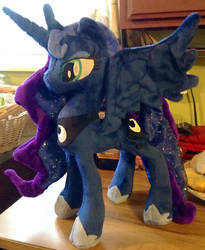 Princess Luna Plush - Sold! by Mimi-Sprinkles